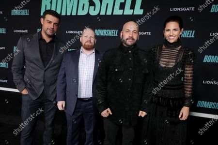 Anjay Nagpal, Executive Producer, Steven Thibault, Executive Producer, Aaron L. Gilbert, Producer, and Ashley Levinson, Executive Producer, attend the Los Angeles Special Screening of Lionsgate's BOMBSHELL at the Regency Village Theatre in Los Angeles, CA on December 10, 2019.