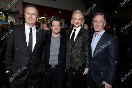Michael Burns, Vice Chairman of Lionsgate, Damon Wolf, President of Worldwide Marketing, Lionsgate Motion Picture Group, Nicole Kidman and Jon Feltheimer, Chief Executive Officer of Lionsgate, attend the Los Angeles Special Screening of Lionsgate's BOMBSHELL at the Regency Village Theatre in Los Angeles, CA on December 10, 2019.