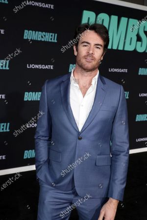 Stock Image of Ben Lawson attends the Los Angeles Special Screening of Lionsgate's BOMBSHELL at the Regency Village Theatre in Los Angeles, CA on December 10, 2019.