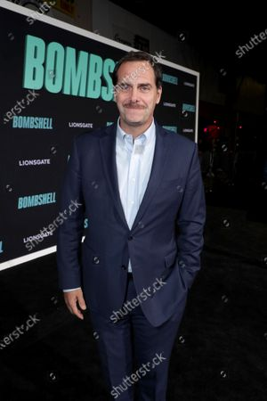 Stock Photo of Andy Buckley attends the Los Angeles Special Screening of Lionsgate's BOMBSHELL at the Regency Village Theatre in Los Angeles, CA on December 10, 2019.