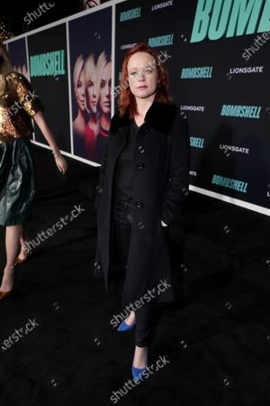 Thora Birch attends the Los Angeles Special Screening of Lionsgate's BOMBSHELL at the Regency Village Theatre in Los Angeles, CA on December 10, 2019.