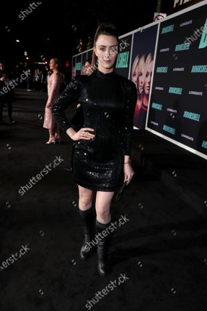 Madeline Zima attends the Los Angeles Special Screening of Lionsgate's BOMBSHELL at the Regency Village Theatre in Los Angeles, CA on December 10, 2019.