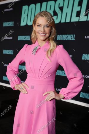 Tricia Helfer attends the Los Angeles Special Screening of Lionsgate's BOMBSHELL at the Regency Village Theatre in Los Angeles, CA on December 10, 2019.
