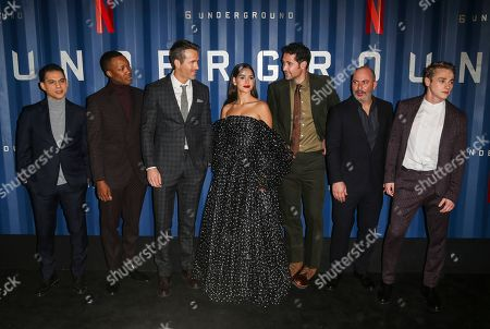Editorial photo of '6 Underground' film premiere, Arrivals, New York, USA - 10 Dec 2019