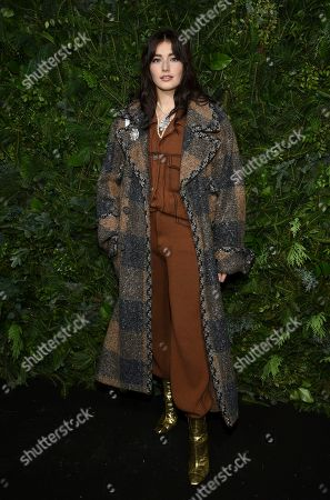 Jessica-Jane Stafford attends the Chanel Nº5 In The Snow launch event at The Standard, High Line, in New York