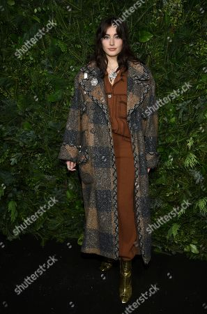 Stock Photo of Jessica-Jane Stafford attends the Chanel Nº5 In The Snow launch event at The Standard, High Line, in New York