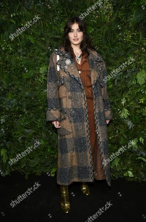 Stock Image of Jessica-Jane Stafford attends the Chanel Nº5 In The Snow launch event at The Standard, High Line, in New York