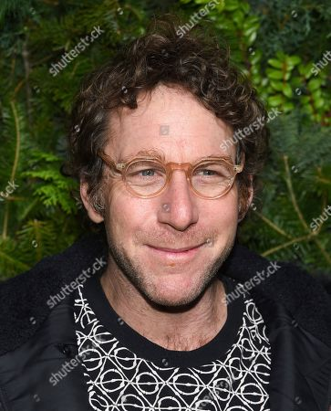 Stock Image of Dustin Yellin attends the Chanel Nº5 In The Snow launch event at The Standard, High Line, in New York