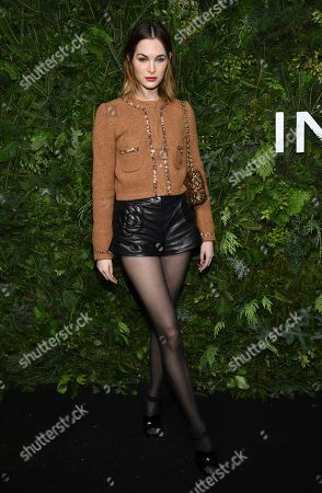 Laura Love attends the Chanel Nº5 In The Snow launch event at The Standard, High Line, in New York