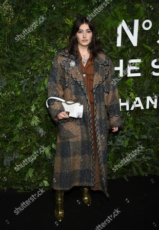 Editorial photo of Chanel In The Snow Launch Event, New York, USA - 10 Dec 2019