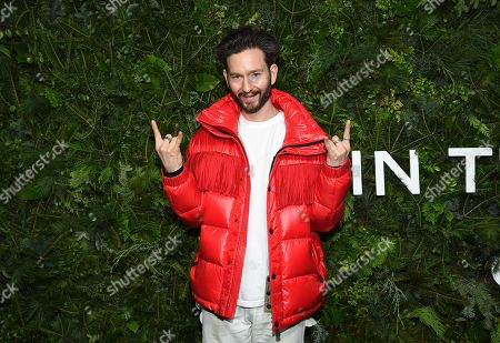 Stock Picture of Isaac Hindin-Miller attends the Chanel Nº5 In The Snow launch event at The Standard, High Line, in New York