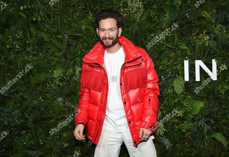Stock Image of Isaac Hindin-Miller attends the Chanel Nº5 In The Snow launch event at The Standard, High Line, in New York