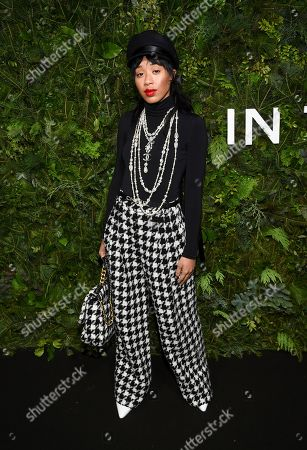 DJ Kitty Cash attends the Chanel Nº5 In The Snow launch event at The Standard, High Line, in New York