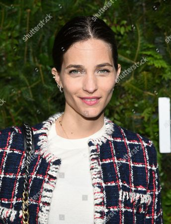 Maria Duenas Jacobs attends the Chanel Nº5 In The Snow launch event at The Standard, High Line, in New York