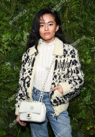 Olivia Lopez attends the Chanel Nº5 In The Snow launch event at The Standard, High Line, in New York