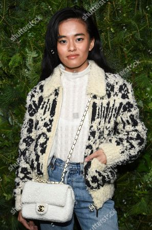 Stock Photo of Olivia Lopez attends the Chanel Nº5 In The Snow launch event at The Standard, High Line, in New York