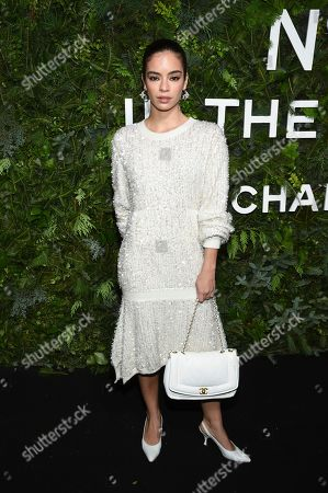 Stock Picture of Coco Baudelle attends the Chanel Nº5 In The Snow launch event at The Standard, High Line, in New York