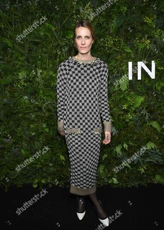 Stock Photo of Vanessa Traina attends the Chanel Nº5 In The Snow launch event at The Standard, High Line, in New York