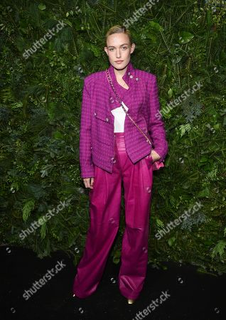 Stock Picture of Carlotta Kohl attends the Chanel Nº5 In The Snow launch event at The Standard, High Line, in New York
