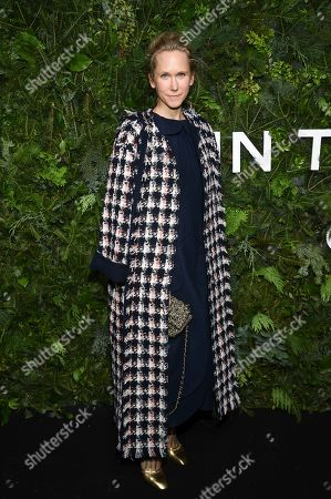 Indre Rockefeller attends the Chanel Nº5 In The Snow launch event at The Standard, High Line, in New York
