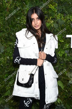 Stock Picture of Anaa Saber attends the Chanel Nº5 In The Snow launch event at The Standard, High Line, in New York
