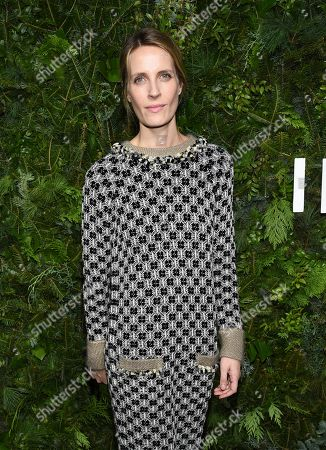 Vanessa Traina attends the Chanel Nº5 In The Snow launch event at The Standard, High Line, in New York