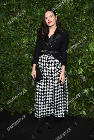 Atlanta de Cadenet Taylor attends the Chanel Nº5 In The Snow launch event at The Standard, High Line, in New York