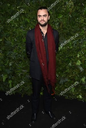 Michael Avedon attends the Chanel Nº5 In The Snow launch event at The Standard, High Line, in New York