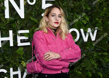 Jemima Kirke attends the Chanel Nº5 In The Snow launch event at The Standard, High Line, in New York