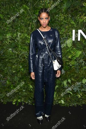 Kimberly Robinson attends the Chanel Nº5 In The Snow launch event at The Standard, High Line, in New York