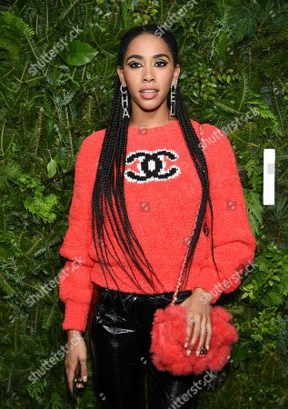 Stock Picture of Herizen Guardiola attends the Chanel Nº5 In The Snow launch event at The Standard, High Line, in New York
