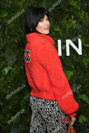Kacey Musgraves attends the Chanel Nº5 In The Snow launch event at The Standard, High Line, in New York