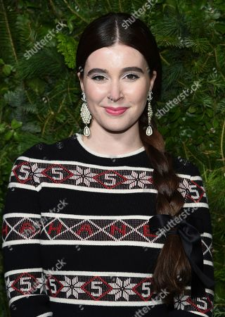Nell Diamond attends the Chanel Nº5 In The Snow launch event at The Standard, High Line, in New York