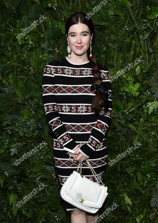 Stock Picture of Nell Diamond attends the Chanel Nº5 In The Snow launch event at The Standard, High Line, in New York