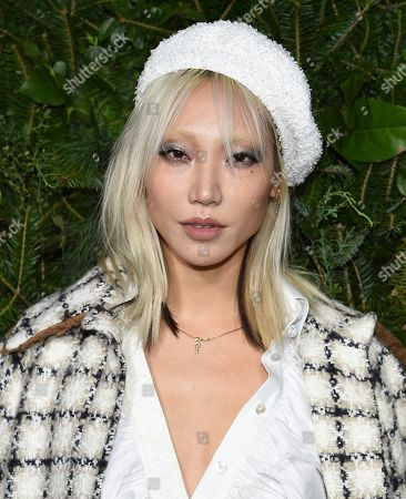 Soo Joo Park attends the Chanel Nº5 In The Snow launch event at The Standard, High Line, in New York