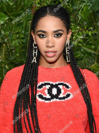 Stock Photo of Herizen Guardiola attends the Chanel Nº5 In The Snow launch event at The Standard, High Line, in New York