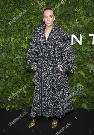 Sophie Auster attends the Chanel Nº5 In The Snow launch event at The Standard, High Line, in New York