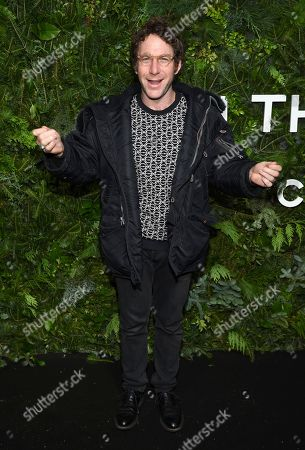 Dustin Yellin attends the Chanel Nº5 In The Snow launch event at The Standard, High Line, in New York