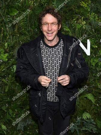 Stock Picture of Dustin Yellin attends the Chanel Nº5 In The Snow launch event at The Standard, High Line, in New York