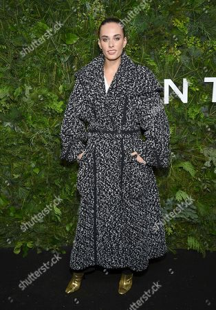 Stock Image of Sophie Auster attends the Chanel Nº5 In The Snow launch event at The Standard, High Line, in New York