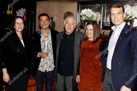 Editorial picture of The 2019 Robert De Niro, Sr. Prize Reception, New York, USA - 10 Dec 2019