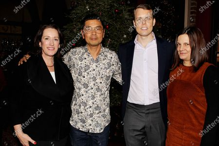 Megan Fox Kelly, Byron Kim (winner of The 2019 Robert De Niro, Sr. Prize), David Earls, Amy Hobby