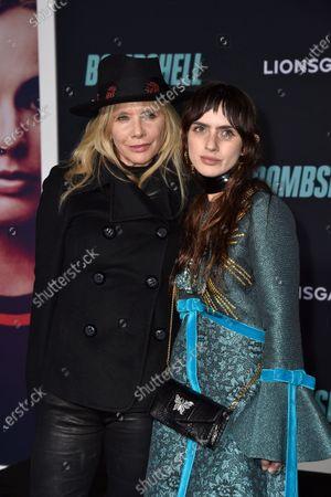 Rosanna Arquette and Zoe Sidel