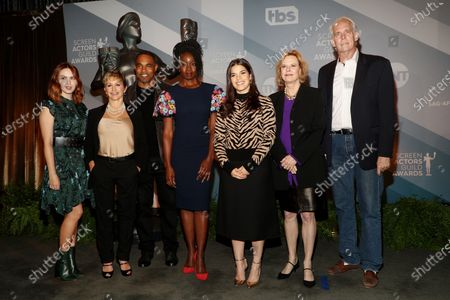 Elizabeth McLaughlin, Gabrielle Carteris, Jason Winston George, Danai Gurira, America Ferrera, JoBeth Williams and Daryl Anderson