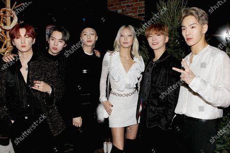 MONSTA X with Soo Joo Park