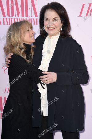 Bonnie Hammer and Sherry Lansing