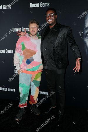 Sebastian Bear-McClard and Paul Pierce
