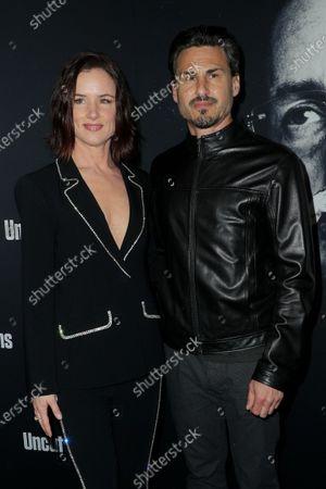 Juliette Lewis and Brad Wilk
