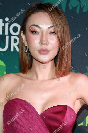 Jessica Wang attends the amfAR GenerationCURE's 5th annual holiday party benefit at Gitano Jungle Room, in New York