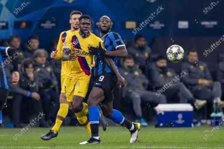 Romelu Lukaku (Inter) Samuel Umtiti (FC Barcelona)